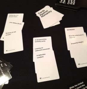 "Best Cards Against Humanity haiku: ""A defective condom; Leaving an awkward voicemail; A disappointing birthday party."""