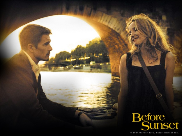 Jesse & Celine in Before Sunset... one of my favourite screen couples of all time.
